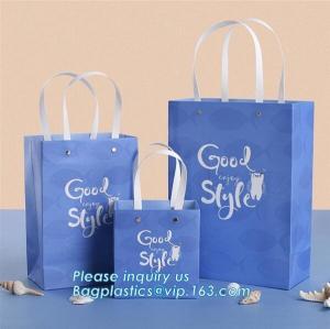 Cheap Custom made luxury kraft paper bag in colour/kraft paper bags colorful paper carrier bag/coloured recycled paper packagi wholesale