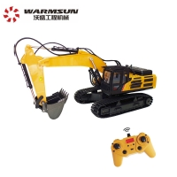 Cheap Remote Control 1:14 Excavator Toy Construction Vehicle Mini Digger for Kids wholesale