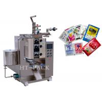 Cheap Stainless Steel Automatic Liquid Packing Machine For Sauce / Vinegar / Oil Bag wholesale