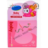 Cheap Pink Color Plastic Packagine Boxes , Infant Care Cosmetic Packaging Boxes wholesale