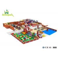 Buy cheap Huge Children Indoor Playground Family Fun Play Area / Kids Play Equipment from wholesalers