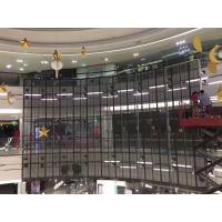 Quality Full Color Indoor Led Window Screen , Video Advertising Screen Al Die Casting for sale