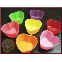 Cheap Silicone Kitchenware, Heart Shaped Cupcake Pan, Cake Moulds, Soap Mold wholesale
