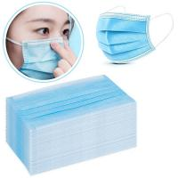 Cheap Low Breathing Resistance Medical Grade Mask , Surgical Disposable Mask Non Woven 3 Layer wholesale