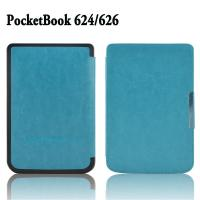 Cheap Handheld Slim Thin Leather Pocketbook Case And Cover for Pocketbook 614 wholesale