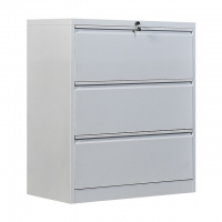 Cheap Office Furniture Lockable lateral metal steel 3 drawer hanging filing cabinet wholesale