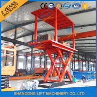 Cheap 3T+3T Double Deck Hydraulic Scissor Car Garage Lift For Basement With CE SGS TUV wholesale