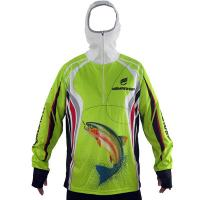 Cheap Unisex Outdoor Fishing Clothing OEM Design Hooded Fishing Shirt Multi Color wholesale