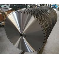 Cheap 800mm Laser Diamond Wall Saw Blades For Fast Cutting High Strength Reinforced Concrete wholesale