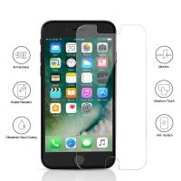 Cheap 9H Full Tempered Glass Bubble Free Iphone Screen Protector Case Friendly wholesale