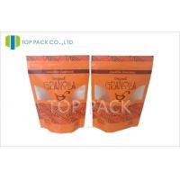China Composite doy style stand up plastic pouches , Zipper Doypack on sale
