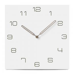 Cheap Square Kitchen Wall Clocks Large Europe Style Quartz Silent Home Decorative Modern Wall Clocks wholesale
