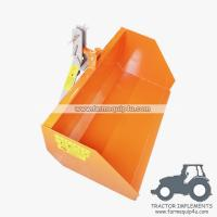 Cheap 7TSCP - Farm equipment tractor 3point hitch trip scoop wholesale