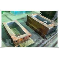Cheap Permanent Casting Machine Parts , 200kg Strip Graphite Casting Mold wholesale