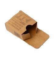 Cheap Custom Logo Food Grade Paper Brown Kraft Paper Cookie Candy Box Printing wholesale