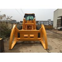 Chinese 5 Ton zl50 Front End wheel Loader with Log Grapple and quick hitch