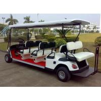Cheap 6+2 seaters gasoline 250CC engine golf cart wholesale