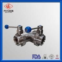 Cheap 3 Way High Performance Butterfly Valves 90 Deg Double Eccentric Sealing wholesale