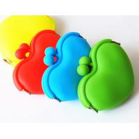 Cheap Heart shape makeup bag, Silicon Coin Purse, phone bag with multi size for sealed bag wholesale