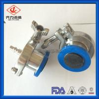 Cheap Anti Rust Thermometer Cap EPDM 316L Stainless Steel 4 Inch Air Blow Check Valve Clamp Ends wholesale