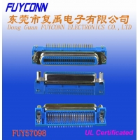 Cheap 36 Pin Centronic PCB Right Angel Female Printer connector with Jack Screws and Board Lock wholesale
