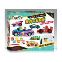 Cheap Safe Non - Toxic Plaster Coloring Toy Car For Child Age 5 12 Molds EN71  ASTM wholesale