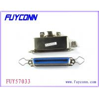Cheap 14 24 36 50 pin Solder Type Ribbon Cable Connector W/ Straight Metal Hood wholesale