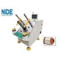 Cheap NIDE Semi-auto single phase stator winding inserting machine for micro induction motors for sale