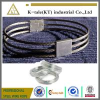 Cheap 3-strand collar /stainless steel wire rope slave collar wholesale