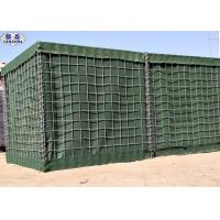 Buy cheap Galvanized Mesh Gabion Military Barriers / Military Sand Wall Barriers from wholesalers