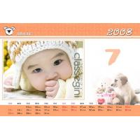 Cheap PLASTIC LENTICULAR PET PP Material Cheap diy photo promotional 3D Lenticular calendars made in China wholesale