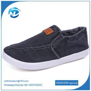 Cheap Simple Design Slip-on Canvas Men Shoes Male Students Casual Shoes wholesale
