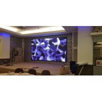 Cheap Black SMD Full Color Indoor LED Screens 4.8mm Pixel Pitch Synchronism Control Mode wholesale