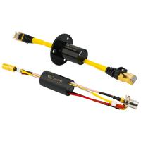 Cheap Capsule Ethernet High Definition Video Slip Ring with Stable Signal And Low Insertion Loss wholesale