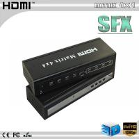 China hdmi 4x4 matrix switcher with RS-232 control on sale