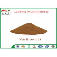 Buy cheap 100% Purity Synthetic Dyes C I Vat brown 68 Brown G Not Dissolved In Water from wholesalers