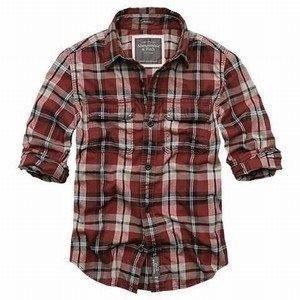 Cheap cheap A&F men shirts dress shirts wholesale accept credit card paypal wholesale