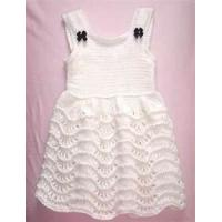 Cheap Baby knitted dress patterns, baby party dresses for summer with unique design wholesale