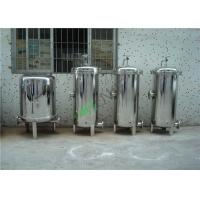 Buy cheap High Pressure Water Filter Housing , Single Bag Stainless Steel Filter Housing from wholesalers