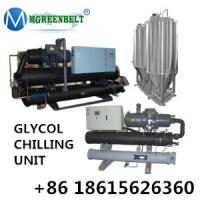 Cheap Dairy Processing Line Use Water Cooled Glycol Chilling Unit For Milk Factory wholesale