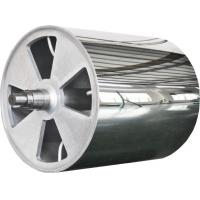 Large Diameter Mirror Roller Non-Standard Product , Leather Embossing Rolls