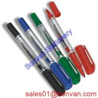Cheap Multi color high quality double point promotional highlighter marker wholesale
