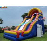 Cheap Professional Giant slide with durable PVC tarpaulin Commercial Inflatable Slide for Child wholesale