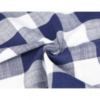 Buy cheap 100%Cotton denim fabric,plaid denim fabric,4.6OZ from wholesalers
