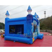 Cheap Frozen Inflatable Bouncer Slide Jumping Castle Combo 1 Year Guarantee wholesale