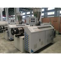 Cheap Twin Screw Plastic Extruder Machine For PVC Pipe Sheet Profile And Granules wholesale