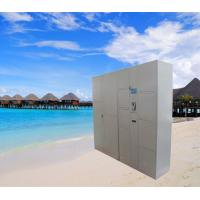 Buy cheap Barcode Password Computer Safe Luggage Lockers Beach Lockers Public Locker With from wholesalers