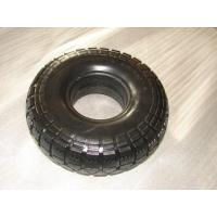 Cheap 8 inch PU foam wheel 2.50-4 with lug pattern wholesale