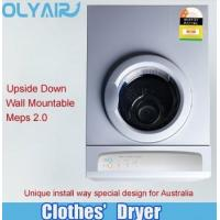 Cheap Australia wall mounted upside down clothes dryer 7kg with MEPS two star wholesale