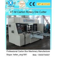 Buy cheap Corrugated Colorful Carton Rotary Die-Cutting Machine For Die Cutting And from wholesalers